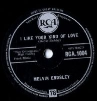 Melvin Endsley - I Like Your Kind Of Love/Is It True (RCA 1004) 78 rpm